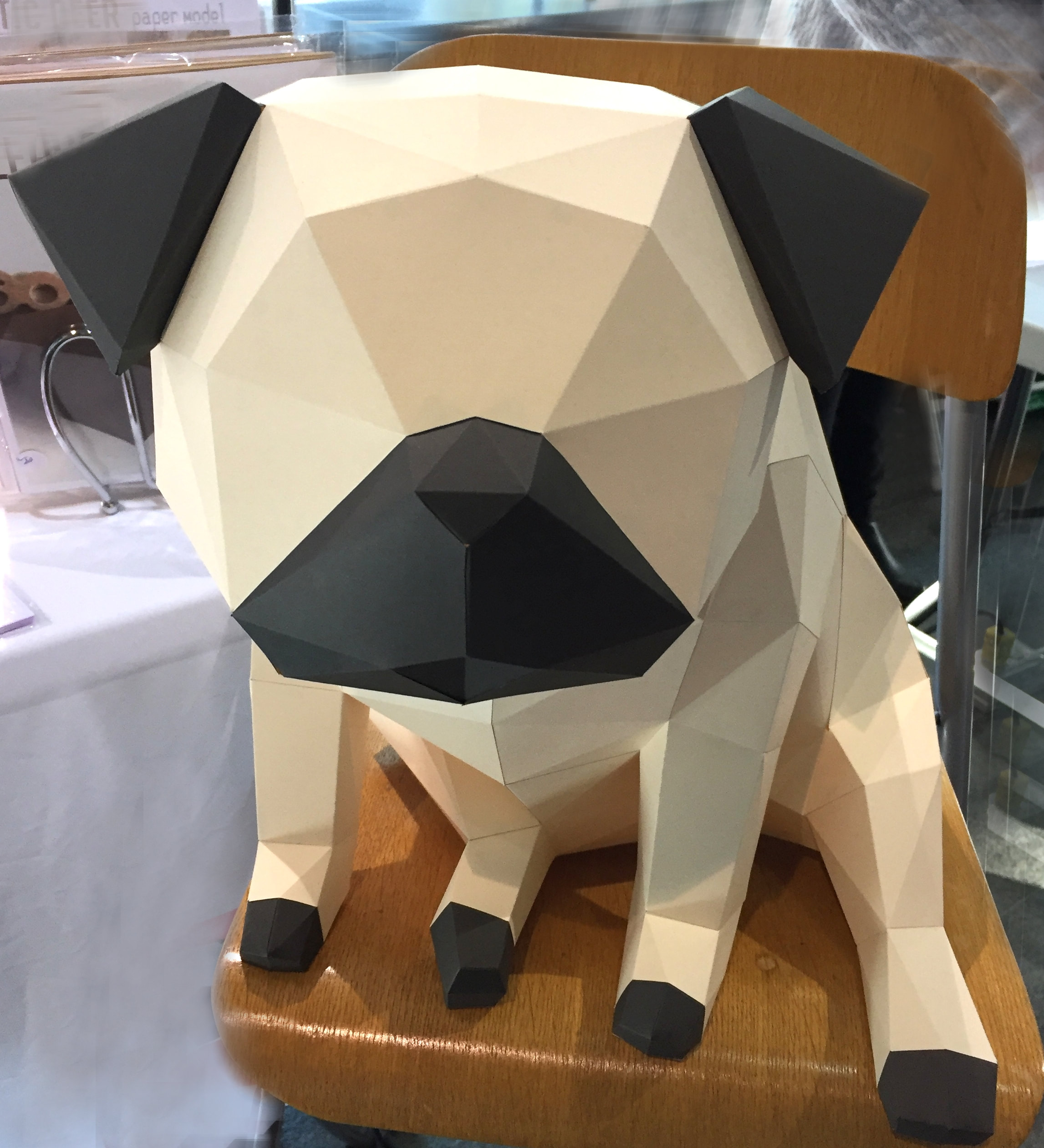 Easy Origami Paper Pug Instructions | 2521x2293